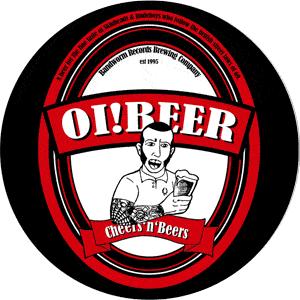 Oi! Beer Button- Flaschenöffner (5,6 cm)