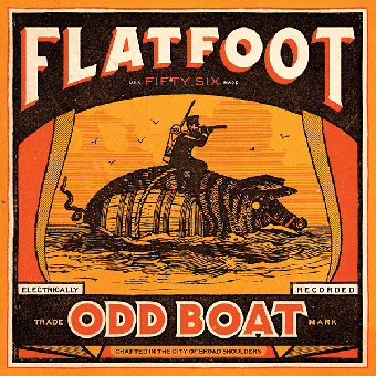 "Flatfoot 56 ""Odd Boat"" LP+MP3 (lim. 500, red)"