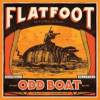"Flatfoot 56 ""Odd Boat"" LP+MP3 (lim. 1000, black)"