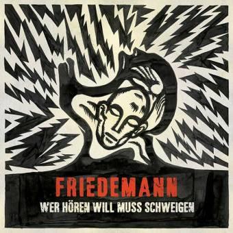 "Friedemann ""Wer hören will muss schweigen"" LP"