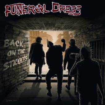 """Funeral Dress """"Back on the Streets"""" EP 7"""" (lim.400, black)"""