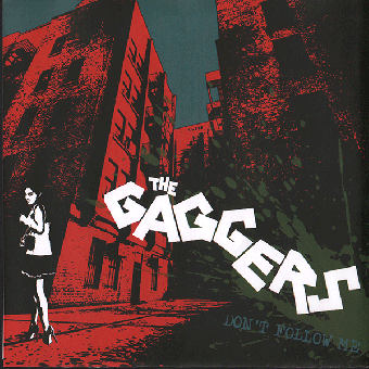 "Gaggers, The ""Don´t Follow Me"" 7"" EP (black)"