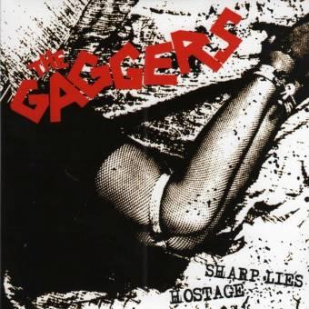 "Gaggers,The ""Sharp Lies / Hostage"" EP 7"" (lim., clear)"