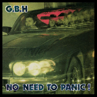 "GBH ""No need to panic!"" LP (lim. 500, blue)"
