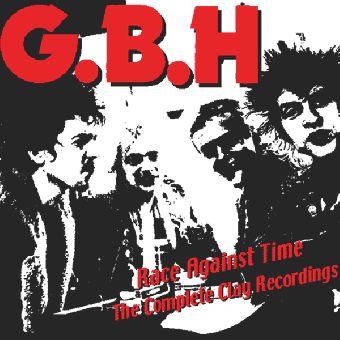 "G.B.H. ""Race Against Time Vol. 2"" Deluxe DoLP (lim. 500, clear)"