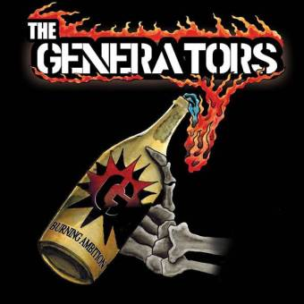 "Generators, The ""Burning Ambitions"" LP (lim. 200, yellow/red splatter)"