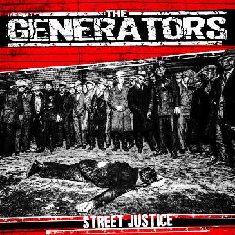 "Generators,The ""Street Justice"" EP 7"" (black)"