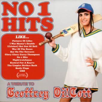 "Geoffrey Oi!Cott ""No 1 Hits"" LP (lim. 500, blue)"