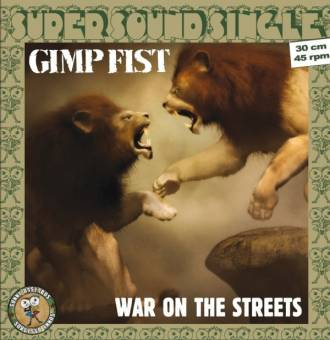 "Gimp Fist ""War on the Streets"" 12"" MaxiEP (lim. 300, black)"
