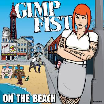 "Gimp Fist ""On the beach"" EP 7"" (lim. 500, black)"