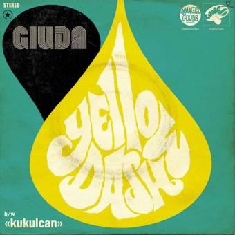 """Giuda """"Yellow Dash / Kukulcan"""" EP 7"""" (lim., yellow)"""
