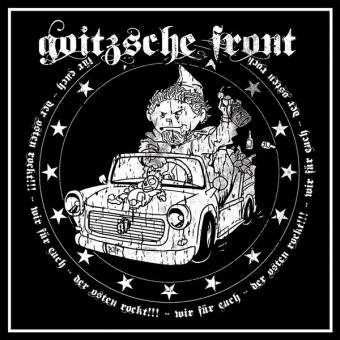 "Goitzsche Front ""Der Osten rockt!!!"" EP 7"" (lim. 100, black)"