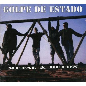 "Golpe de Eastado ""Metal & Beton"" CD"
