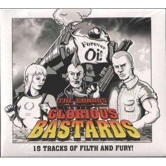 "Gonads, The ""Glorious Bastards"" CD (DigiPac)"