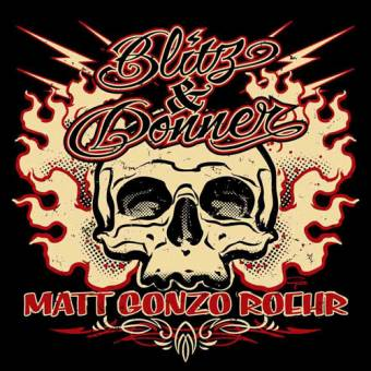 "Matt Gonzo Roehr ""Blitz & Donner"" CD"