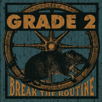 "Grade 2 ""Break the Routine"" LP (lim. 300, blue)"