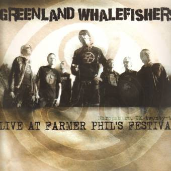 "Greenland Whalefishers ""Live at Farmer Phil`s Festival"" LP (incl. downloadcard)"