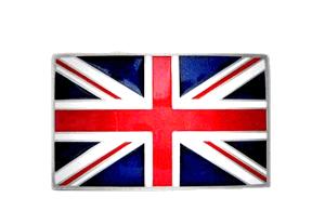 Union Jack-Gürtelschnalle / Belt Buckle
