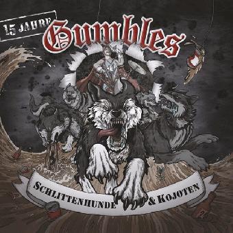 """Gumbles """"Schlittenhunde und Koyoten"""" LP (lim. 250, red)"""
