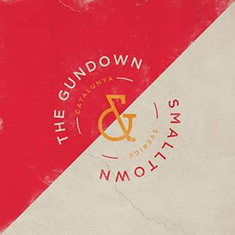 "split Smalltown / The Gundown ""same"" EP 7"" (lim. 250, mustard)"