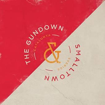 "split Smalltown / The Gundown ""same"" EP 7"" (lim. 250, mustard)"