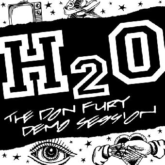 """H2O """"The Don Fury Demo Session"""" 12"""" MLP (lim. 300, yellow) + MP3"""