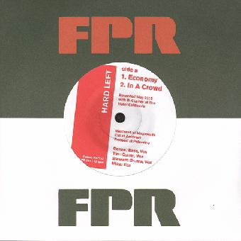 "Hard Left ""Economy"" EP 7"" (black)"