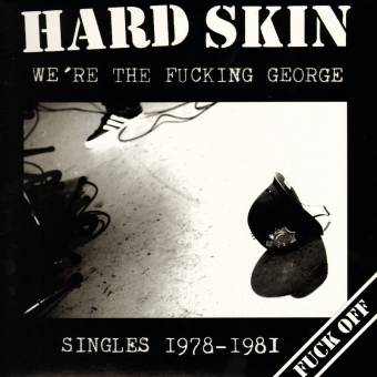 "Hard Skin ""We`re the fucking George"" LP (red, lim Tour-Edition)"