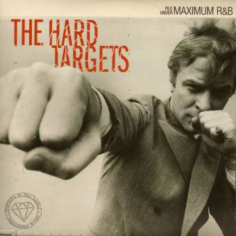 "Hard Targets ""File Under Maximum R&B"" EP 7"" (lim. 250, clear/black)"