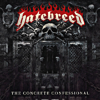 "Hatebreed ""The concrete confessional"" LP (lim. 500, clear)"