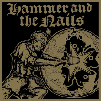 "Hammer And The Nails ""same"" 12"" MLP (lim. 400, clear) (gold print + Poster)"
