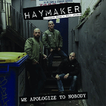 "Haymaker ""We apologize to Nobody"" LP (lim. 300, black)"