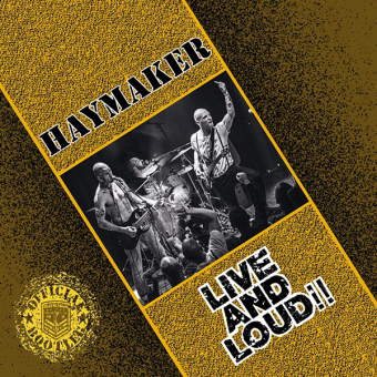 """Haymaker """"Live and Loud"""" CD"""
