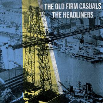 """split Headliners / Old Firm Casuals """"same"""" EP 7"""" (black)"""