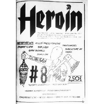 Heroin #8 - Fanzine (D)