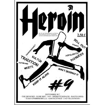 Heroin #9 - Fanzine (D)