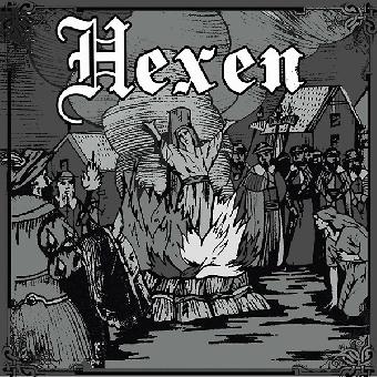 "Hexen ""Akt 1: Die Frauenjagd"" EP 7"" (lim. 500, black)"