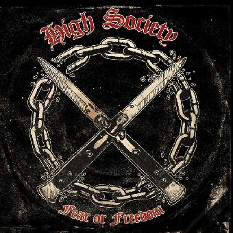 """High Society """"Fear or Freedom"""" LP (lim. 300, black) + MP3"""