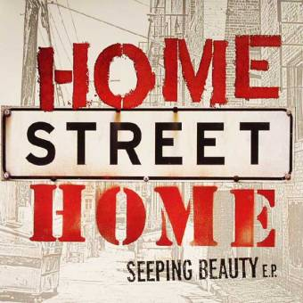 "NOFX and Friends ""Home Street Home - Seeping beauty"" EP 7"" (black)"