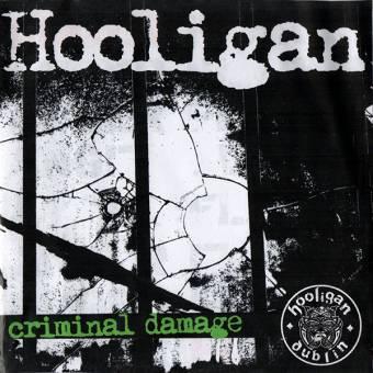 """Hooligan """"Criminal Damage"""" EP 7"""" (lim. 150, black)"""