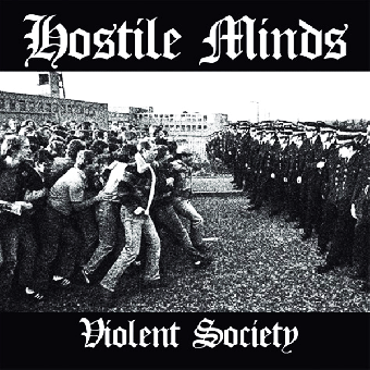 "Hostile Minds ""Violent society"" CD (lim. 300, DigiPac)"