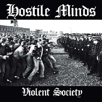 """Hostile Minds """"Violent society"""" CD (lim. 300, DigiPac)"""