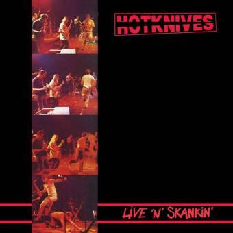 "Hotknives, The ""Live `n` Skankin"" LP+12"" (lim. 400, black)"