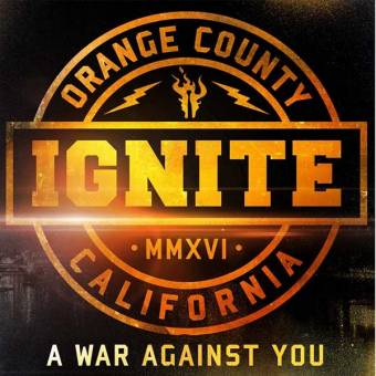 "Ignite ""A war against you"" LP+CD (black)"