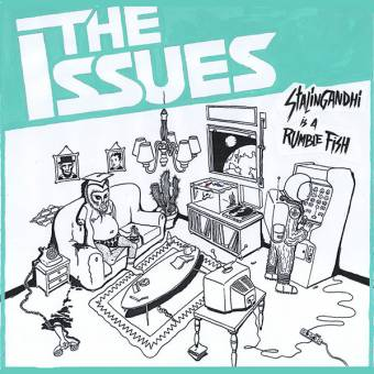"""Issues, The """"Stalingandhi is a Rumble Fish"""" LP (lim. 100, white)"""