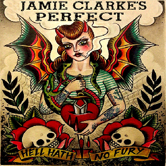 "Jamie Clarke`s Perfect ""Hell hath no fury"" LP (black)"