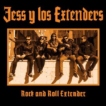 """Jess & Los Extenders """" R`n`R Extender"""" LP (lim. 260, black)"""
