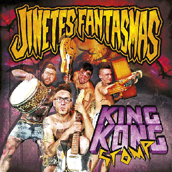 "Jinetes Fantasmas ""King Kong Stomp"" LP (black)"