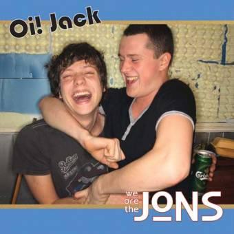 "Jons,The ""Oi! Jack"" EP 7"" (lim. 250, white)"