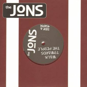 "Jons,The ""Walk towards the people"" EP 7"" (lim. 250, silver)"